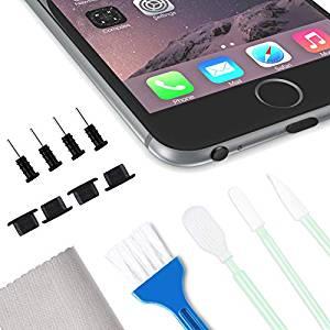 rens iPhone for at reparere støv og andre fejl med lyd