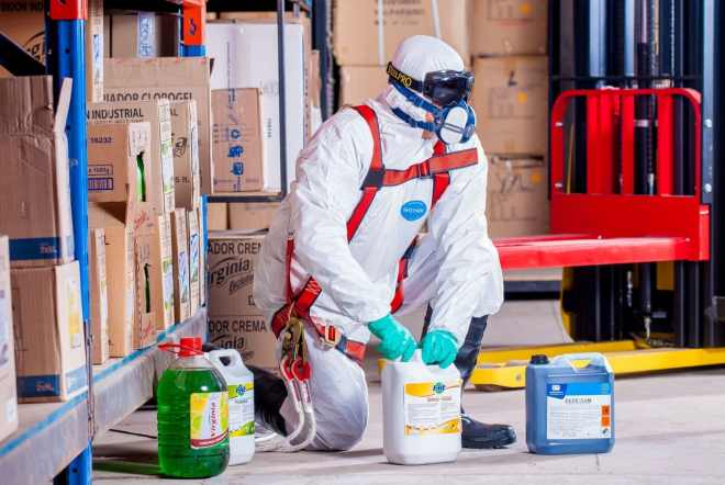 kemisk affald og sortering outsourcing
