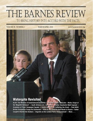 The Barnes Review, March/April 2003