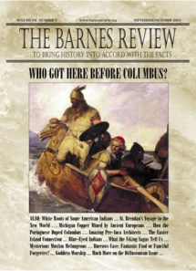 The Barnes Review, September-October 2001