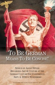 To Be German Means to Be Concise