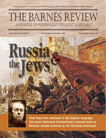 The Barnes Review, September/October 2008