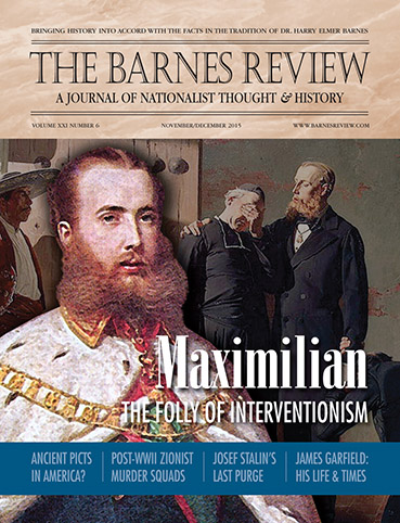 The Barnes Review, November/December 2015