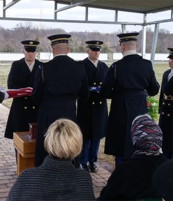 Willis Carto Buried with Full Military Honors