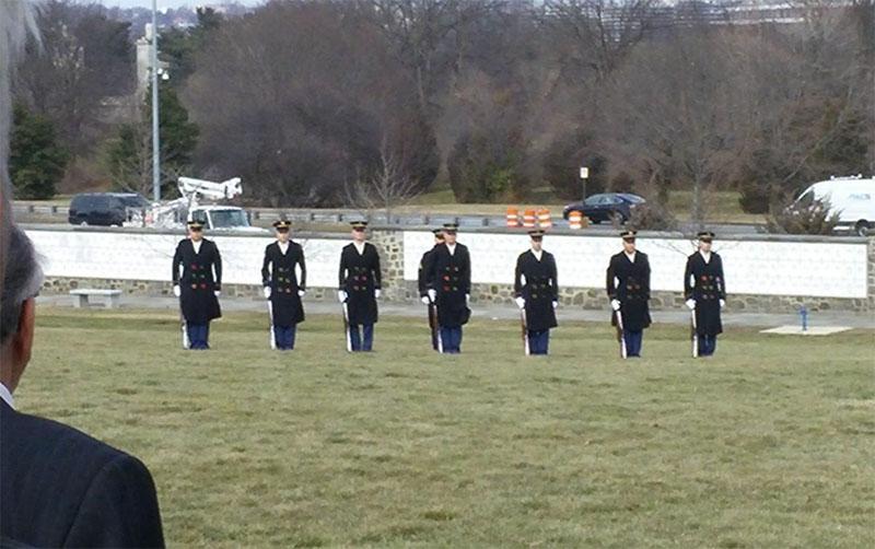 The Military Salute