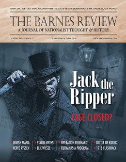 THE BARNES REVIEW, SEPTEMBER/OCTOBER 2016