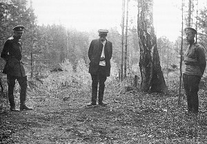Romanovs in Woods