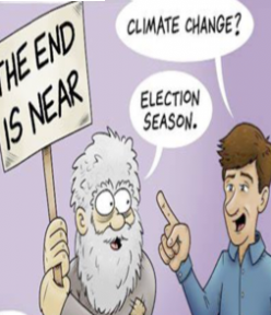THE END MAY BE NEARER THAN YOU THINK – BUT THERE IS STILL HOPE