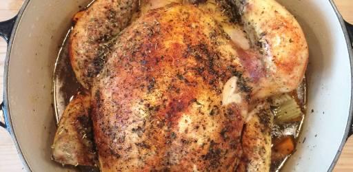 Oppskrift :: Grytestekt kylling