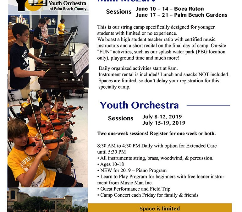 Summer Camp: Mini-Mozart / Youth Orchestra