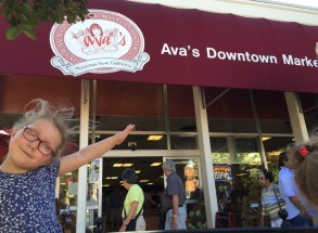 Ava's first franchise, downtown Mountain View.