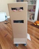 Box on legs.