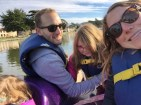 Failed pedal boat selfie.