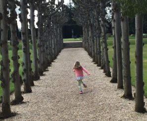The world's a playground, Knebworth House.
