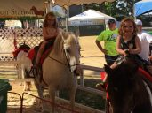 Obligatory pony rides.