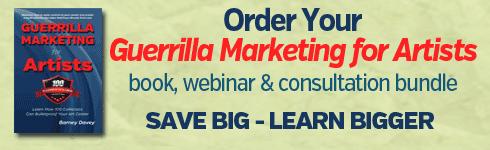Guerrilla Marketing for Artists - art marketing workshops