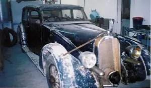 AVIONS VOISIN C28 1937 CHANCELLERIE frente