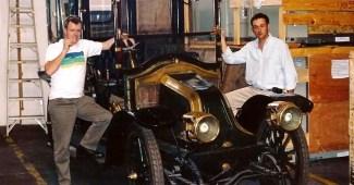Renault 1909 14HP carrocería tipo Landaulette hecha por Henri Binder