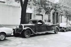 PACKARD 1930 HEARSE FLOWER