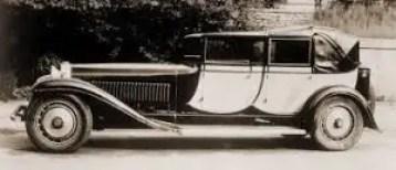 bugatti royale berlinde de Voyage by jean bugatti