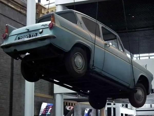 """Ford Anglia """"volador"""""""