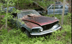 Abandoned Junk Yard in Michigan