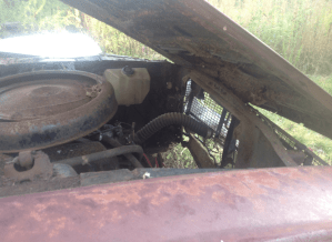 Ford parts car
