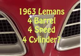 Rare 4 cylinder Lemans