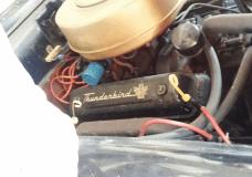 Thunderbird valve cover on Fairlane engine