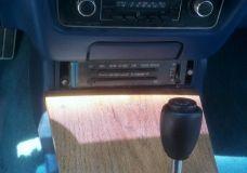 Custom wood 1977 Pontiac Trans Am Center console