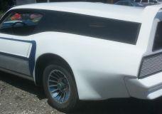 1977 Pontiac Trans Am Wagon view of rear quarter panel conversion