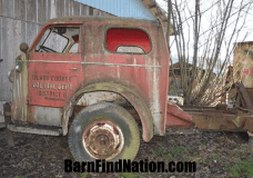 A bit better view of the '54 American LeFrance Fore truck found on Craigslist