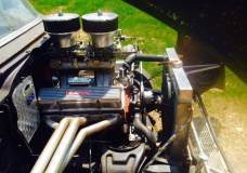 1957 Chevy tunnel ram small block chevy viw