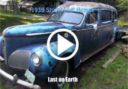 1939 Studebaker Hearse