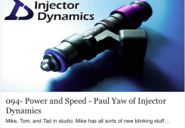 Paul Yaw ID Fuel Injectors