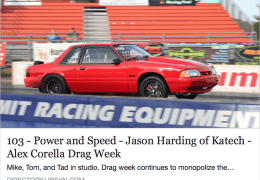 Jason Harding of Katech and Alex Corella of Drag Week
