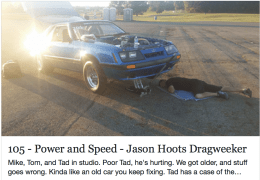 Jason Hoots from Dragweek on