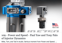 Paul Yaw and Tony Palo of Injector Dynamics