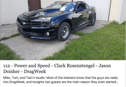 Clark Rosenstengel - Jason Doisher - DragWeek
