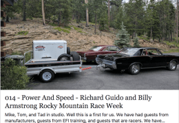 Richard Guido and Billy Armstrong Rocky Mountain Race Week