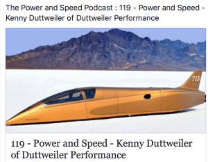 Land Speed Record Holder