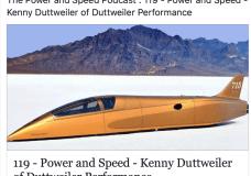 Land Speed Record Holder