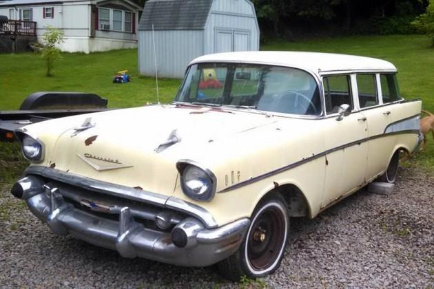 1957 Chevy Bel Air Wagon 4 Door Classic