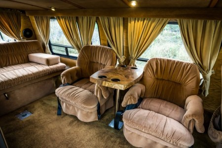 HotRodHarrys Custom Dodge S Van With Flames SOLD YouTube Best Interior Images On Pinterest
