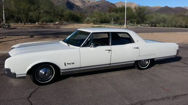 Is It A Car Or A Boat  1966 Oldsmobile 98 LS