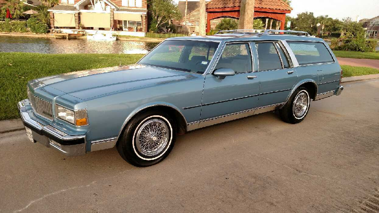 Super Whale Low Mileage 1988 Caprice Wagon