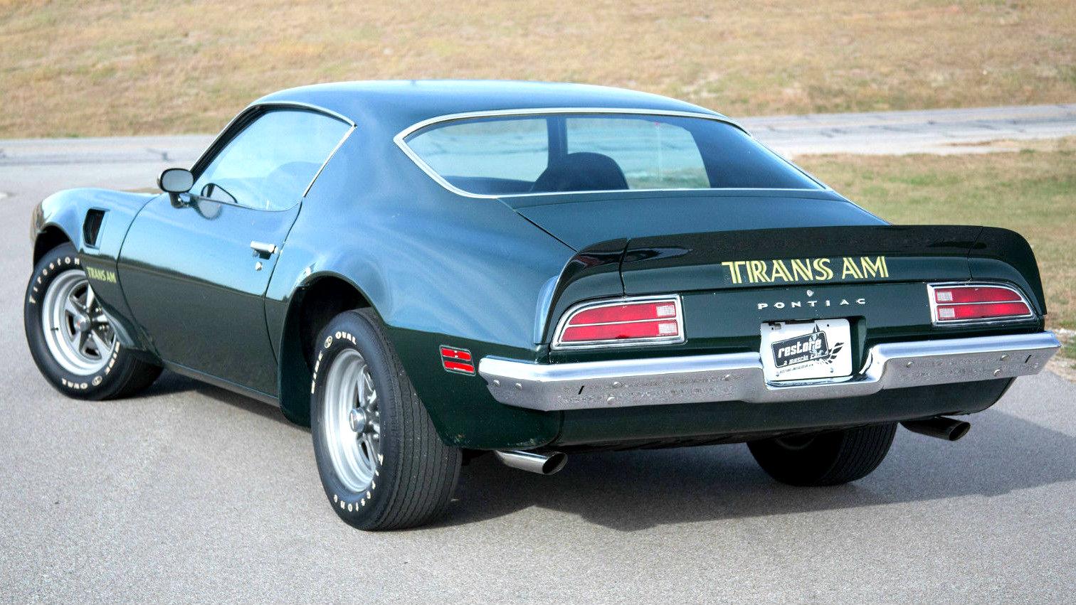 Less Than 50000 Miles 1973 Trans Am