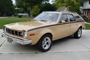 6  2 = V8: 1976 AMC Hor X Sportabout