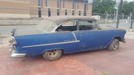 True Texas Barn Find  1955 Chevrolet Bel Air Buyers and sellers who come across solid examples of any 1955 through 1957  Chevy know that they are valuable in almost any condition