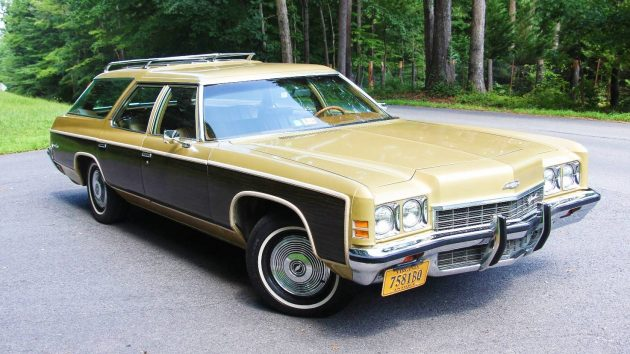 Spy Wagon  1972 Chevrolet Kingswood Estate